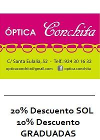DESCUENTO OPTICA CONCHITA