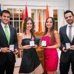 Los doctores de MPDENTAL reciben la Medalla de Oro del Foro Europa al prestigio profesional.